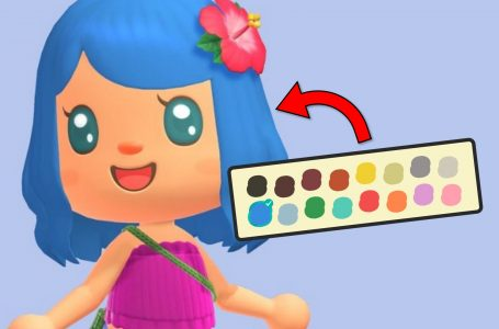 How to dye your hair unnatural colors in Animal Crossing: New Horizons