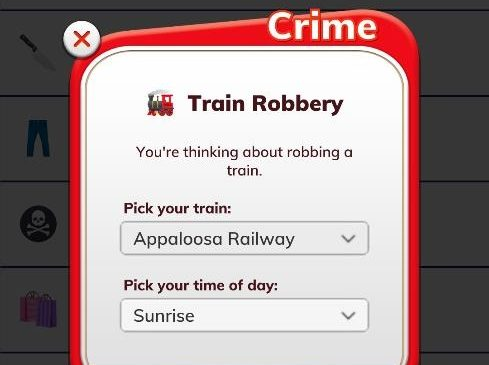 BitLife Train Robbery