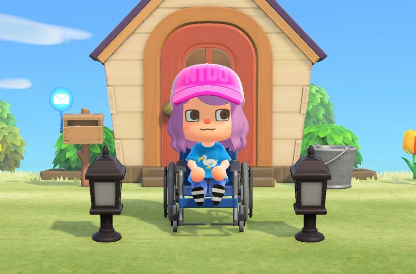 Animal Crossing New Horizons Wheelchair