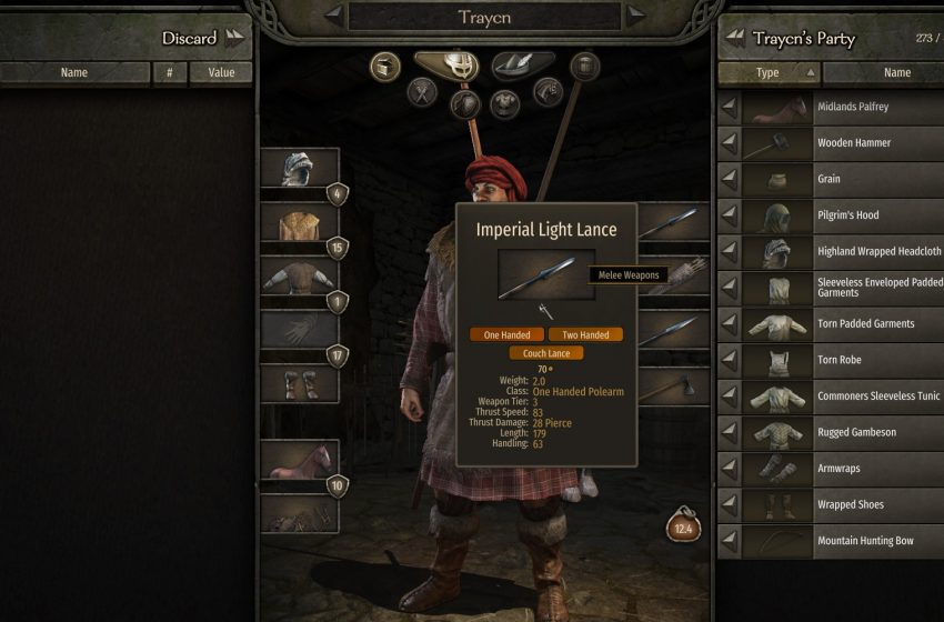 How to couch lance in Mount and Blade II: Bannerlord