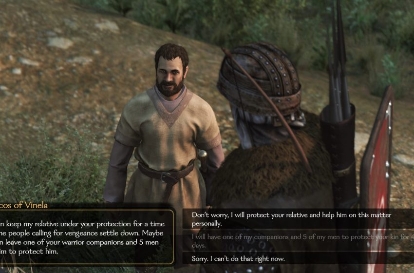 Family feud quest guide – Mount and Blade II: Bannerlord