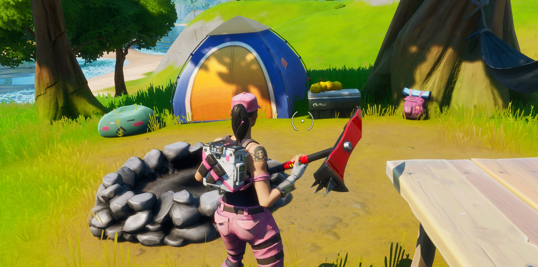 Where to visit Skye's Coastal Campsites in Fortnite Chapter 2 Season 2