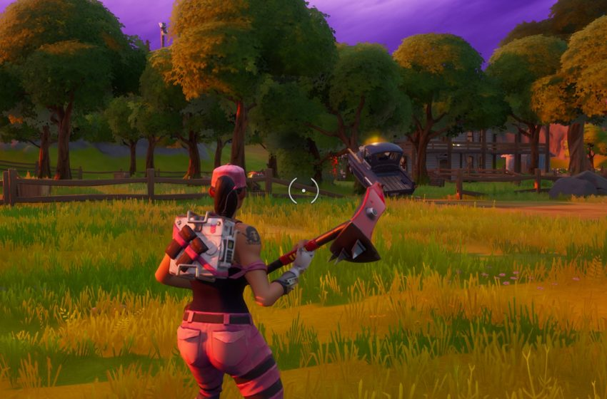 Where to consume foraged items at The Orchard in Fortnite Chapter 2 Season 2
