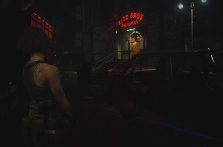 Resident Evil 3 Remake – red, green, and blue gem locations