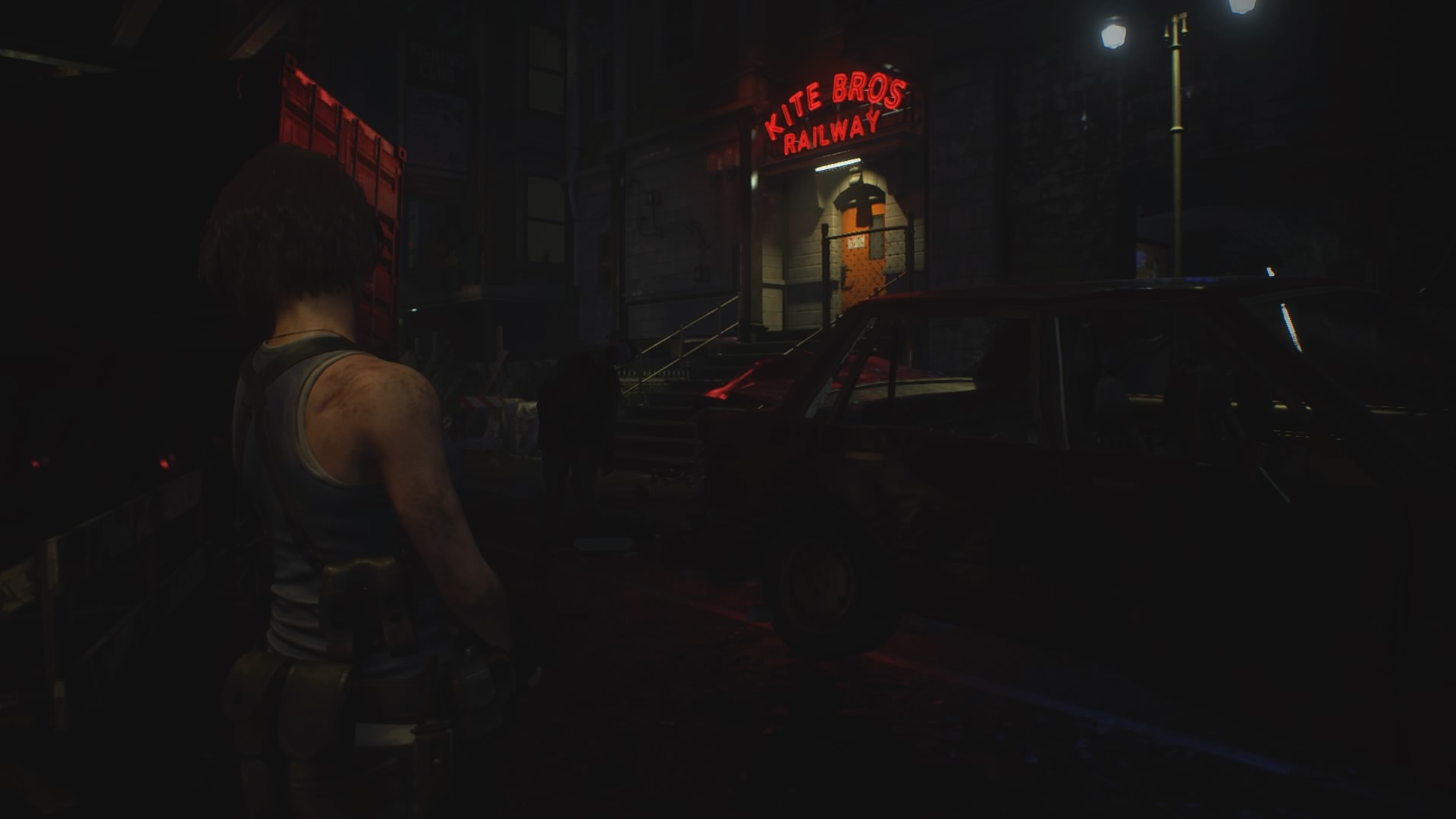 Resident Evil 3 Remake: Red, green, and blue gem locations