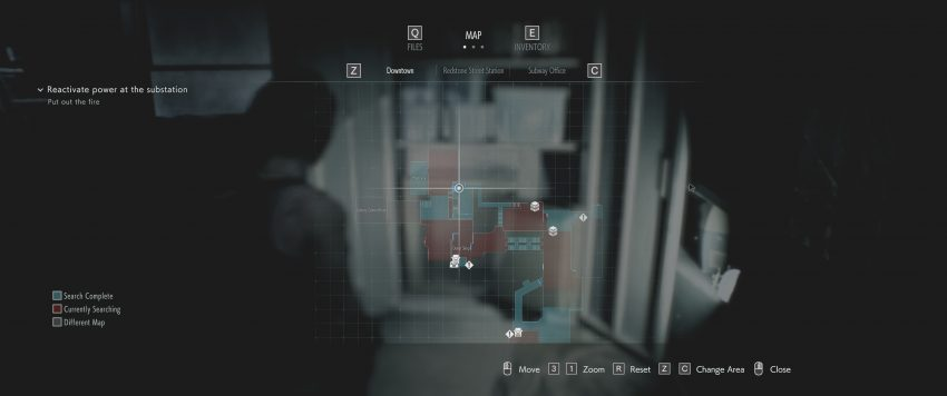 Red Dot Sight Location