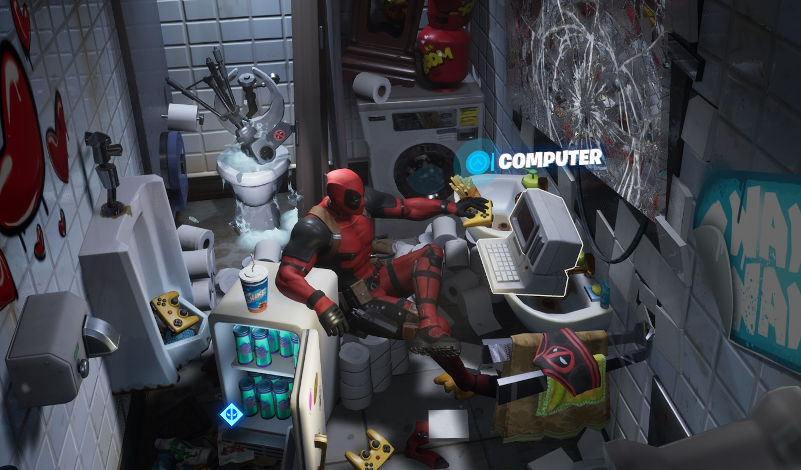 Where to find Deadpool's two pistols in Fortnite Chapter 2 Season 2