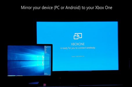 Xbox One Wireless Display app guide