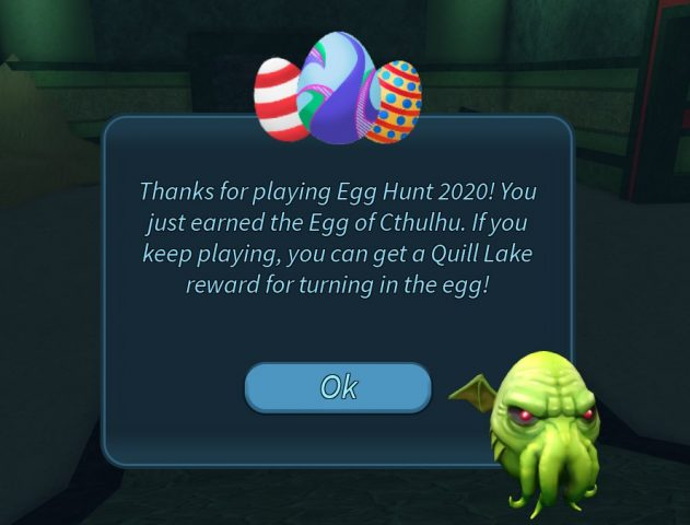 How To Get The Egg Of Cthulu In Roblox Egg Hunt 2020 Gamepur
