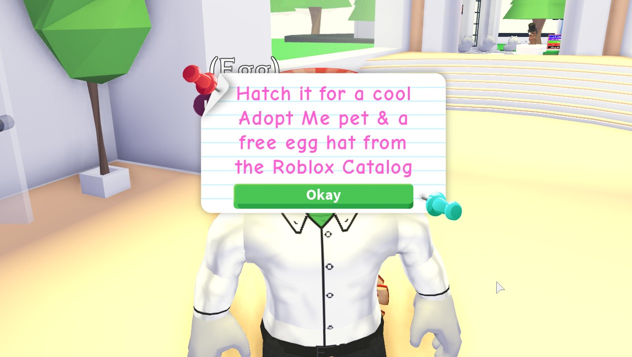 How To Get The Adopt Me Chick Egg In Roblox Egg Hunt 2020 Gamepur