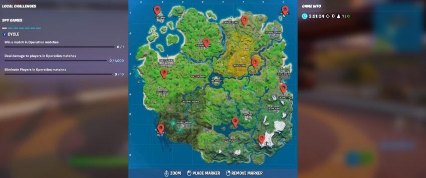 Helicopter Locations Fortnite