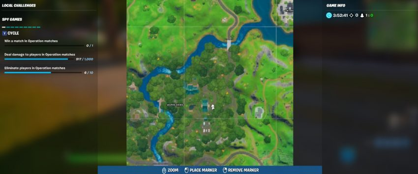 Shadow Ollie Locations