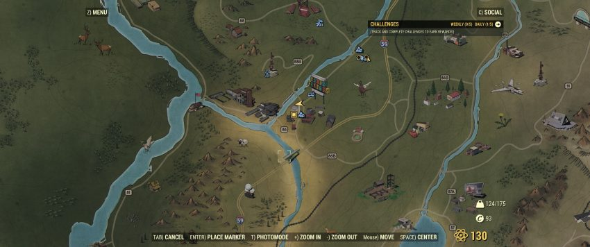 Flatwoods Map