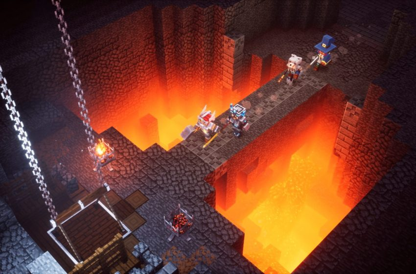 How to access the Diablo 2 Easter Egg in Minecraft Dungeons