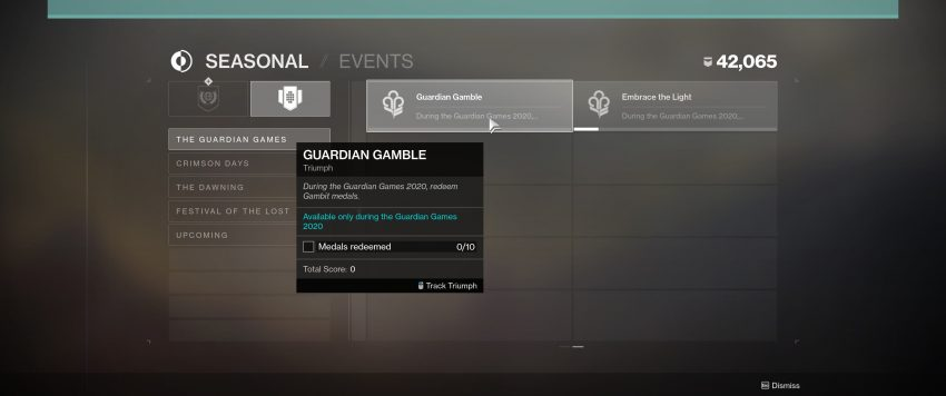 Guardian Gamble