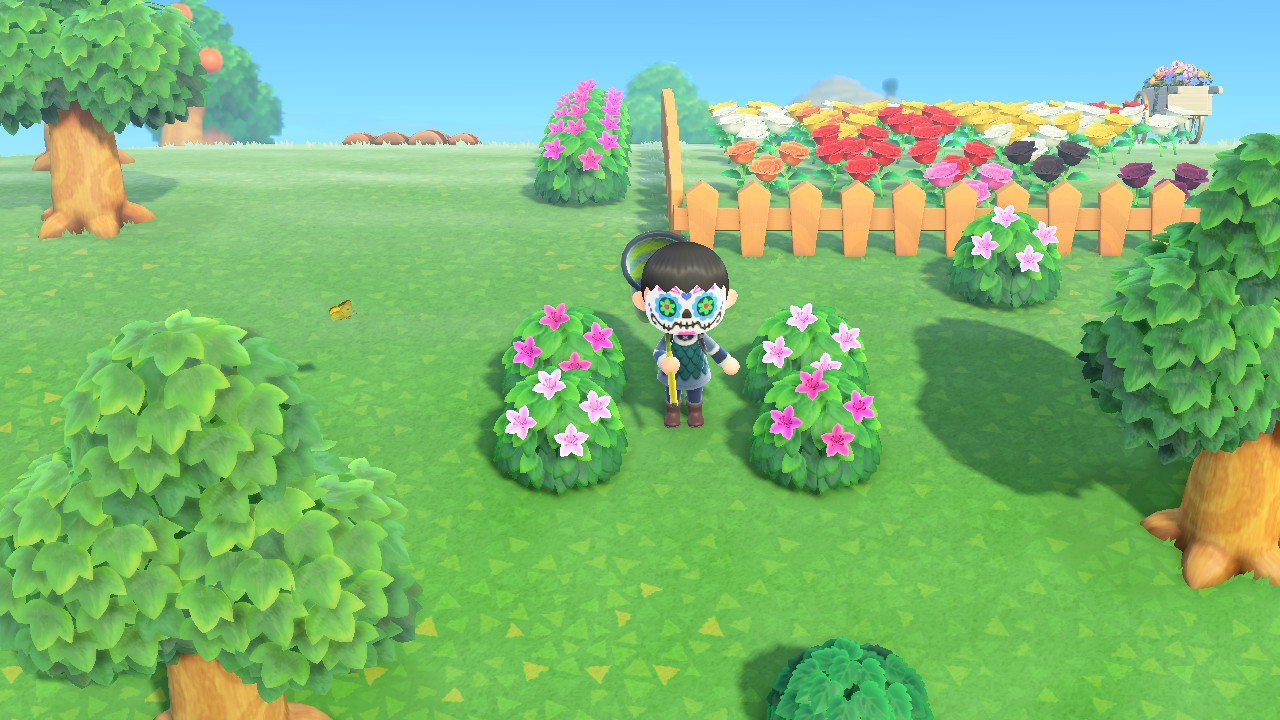Can Shrubs Cross Breed To Make Hybrid Shrubs In Animal Crossing