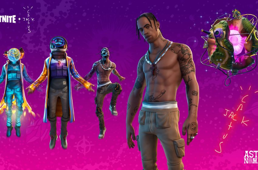 Travis Scott's Astronomical Fortnite event was played by 12 million users, an all-time record