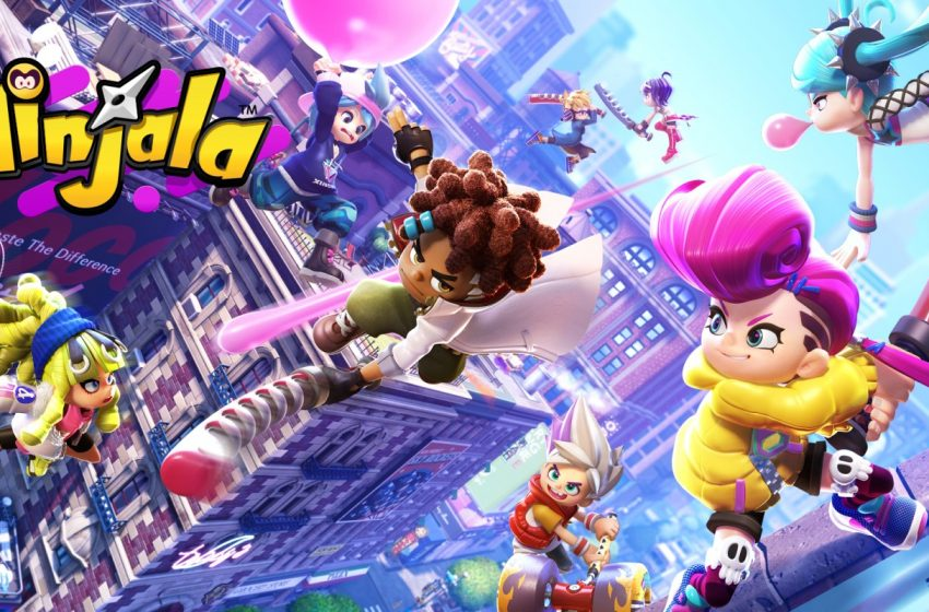Eight-player battler Ninjala shows off new power-ups, will get seasonal updates