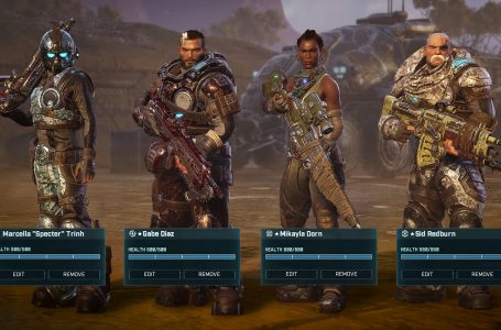 How to upgrade weapons and armor in Gears Tactics