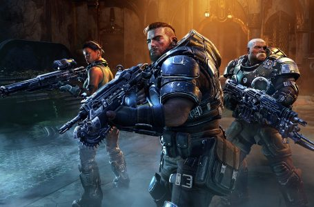 Who are the voice actors in Gears Tactics?