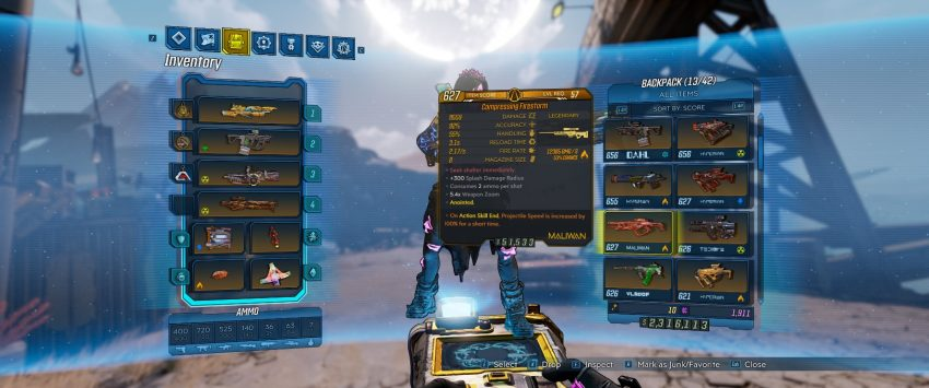 Roblox Universe Event All Items How To Get The Firestorm Legendary Sniper Rifle In Borderlands 3 Gamepur