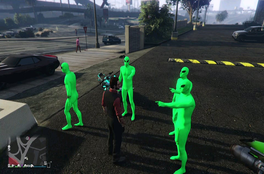 How to get the alien suit in GTA Online
