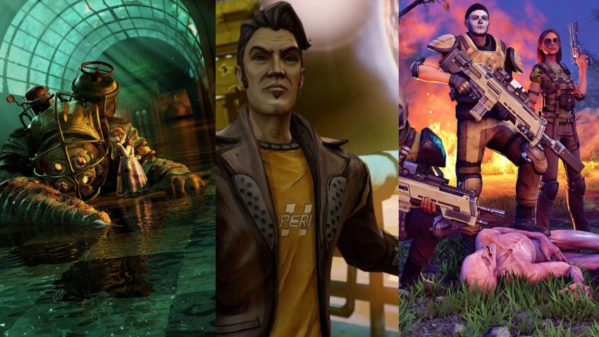 BioShock: The Collection, Borderlands Legendary Collection and XCOM 2 Collection