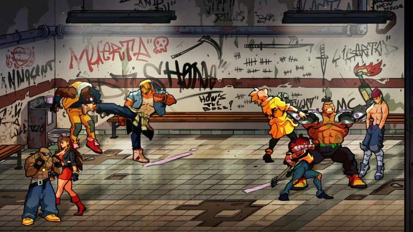 Streets of Rage 4 unlockable characters full list