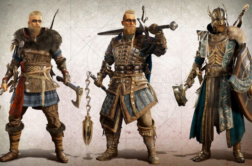 Assassin's Creed Valhalla character customization
