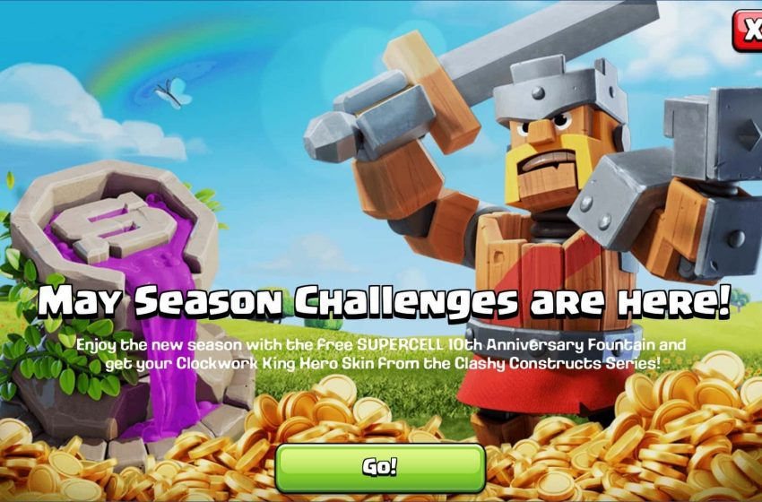 What's in the May 2020 Gold Pass in Clash of Clans?