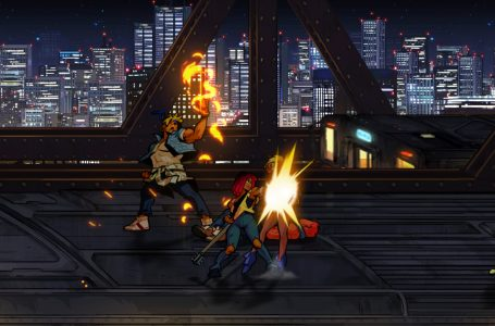 Can you sprint in Streets of Rage 4?