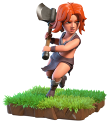 Clash of Clans Valkyrie