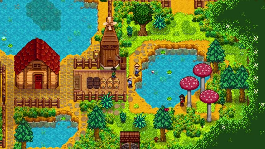 Stardew Valley Multiplayer Fishing