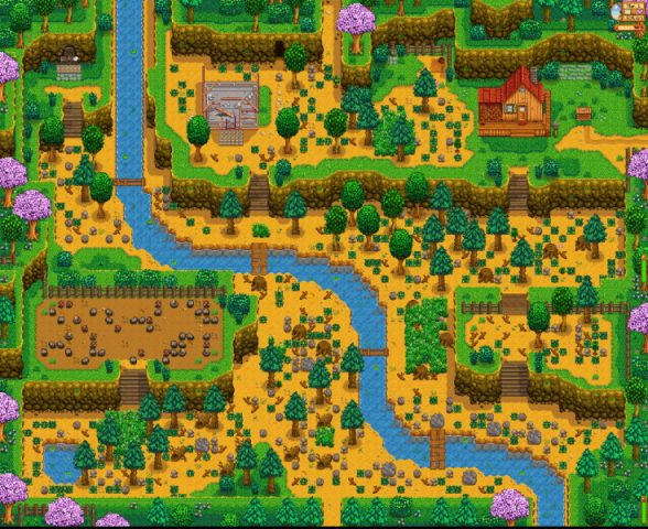 The Different Farm Layouts And Their Bonuses In Stardew Valley Gamepur