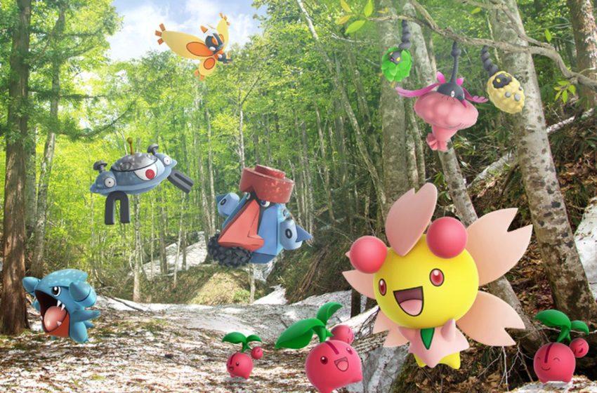 How to get Cherubi in Pokémon GO