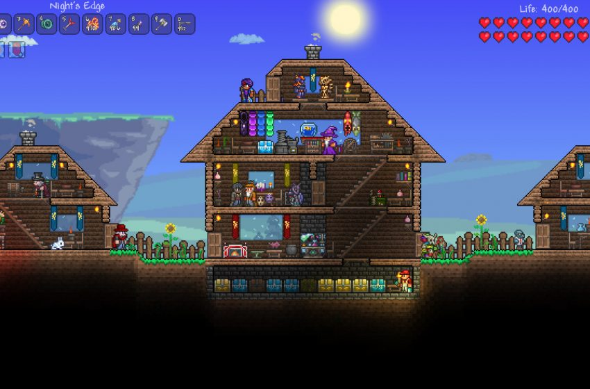When is the release of the Terraria 1.4 update?