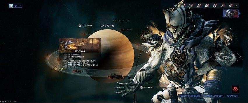 Saturn Map Warframe