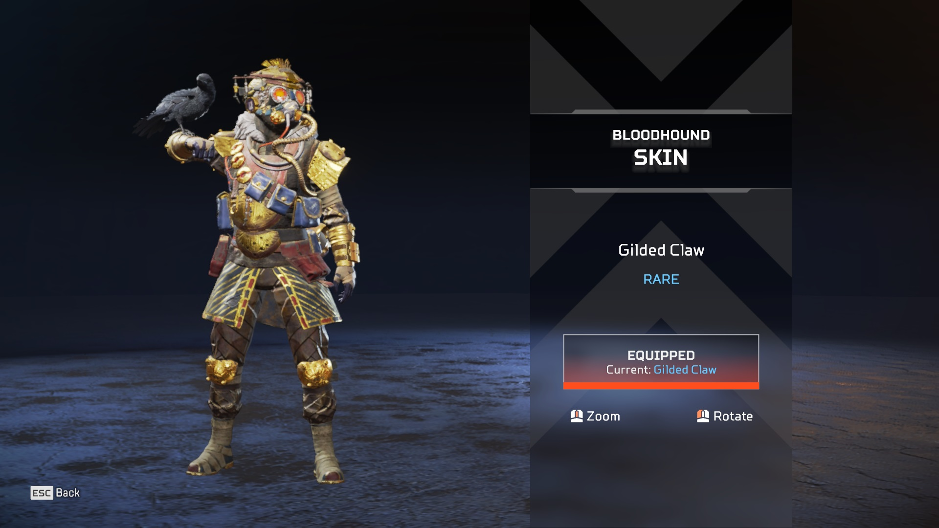 Gilded Claw Bloodhound