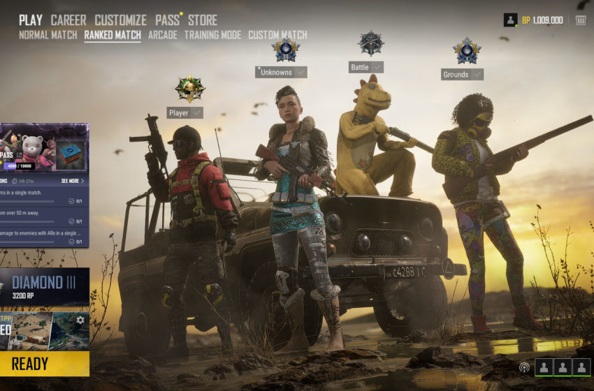 Everything about PUBG's ranked mode