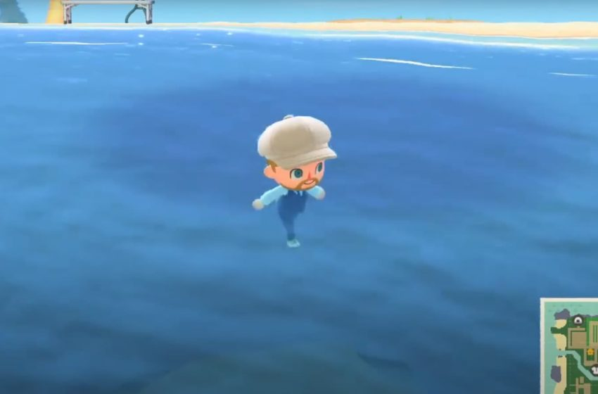 How to get onto rooftops and into the ocean in Animal Crossing: New Horizons