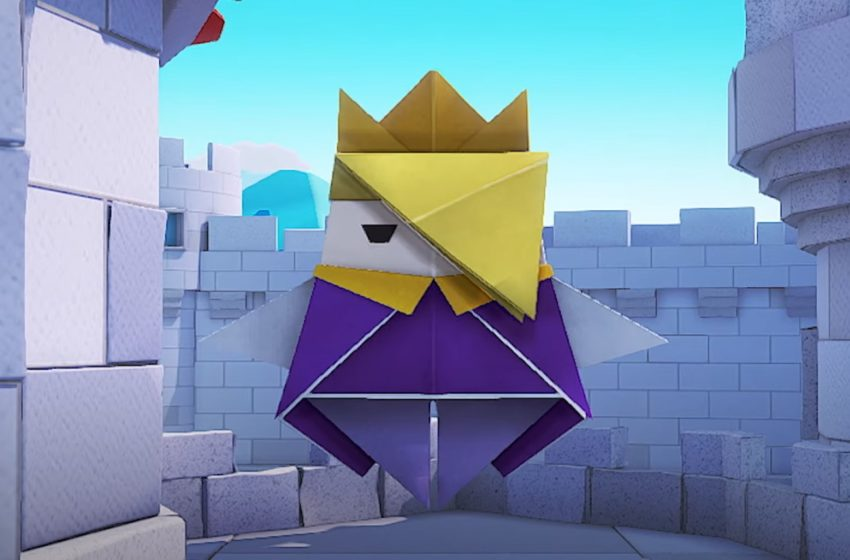 How to damage enemies before battle in Paper Mario: The Origami King