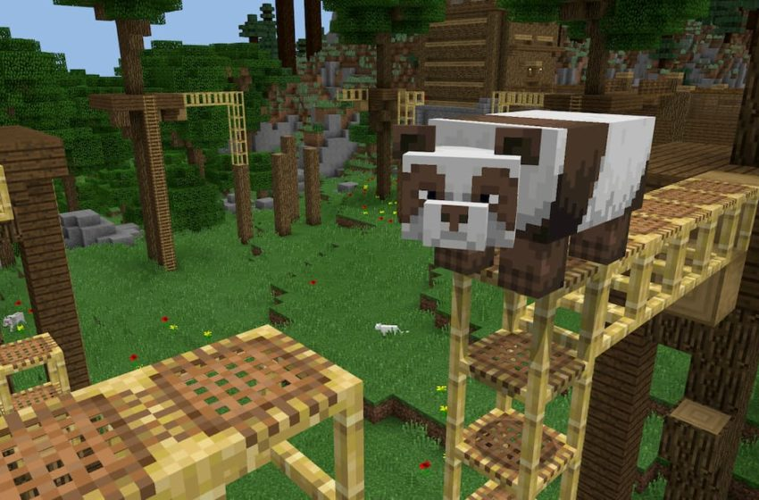How to craft and use scaffolding in Minecraft