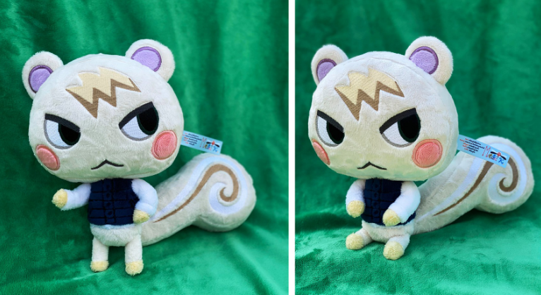 Animal Crossing fan makes super detailed Plush Toys that can even be used as Amiibo