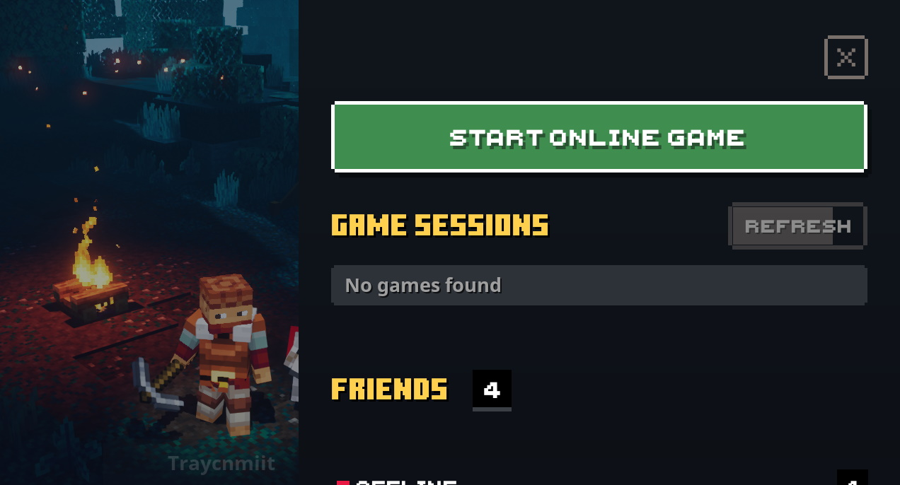 Can you play Minecraft Dungeons offline?  Gamepur