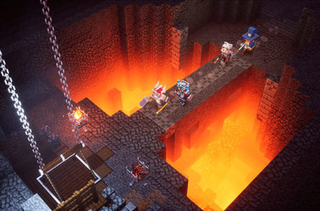 What time will Minecraft Dungeons be released?