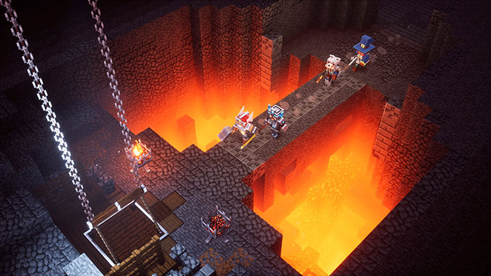 Minecraft Dungeons system requirements minimum and recommended specs