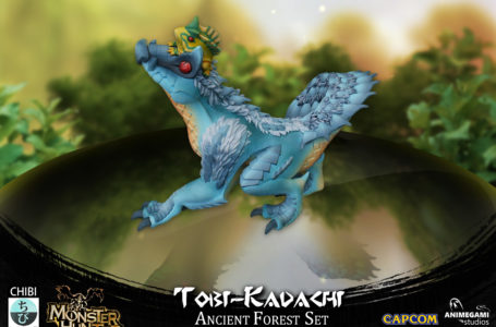 Capcom and Animegami showcase new Tobi-Kadachi Monster Hunter chibi figure