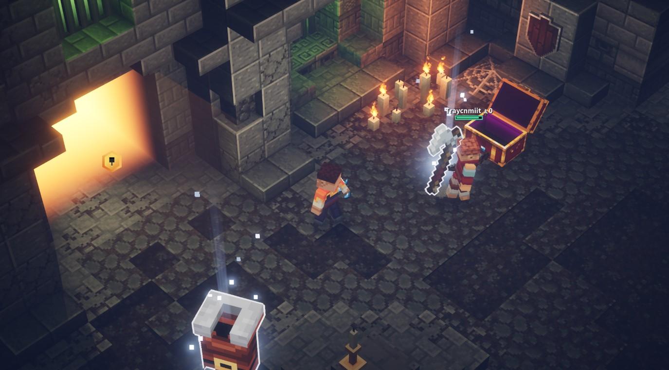 Does Minecraft Dungeons have split screen?  Gamepur