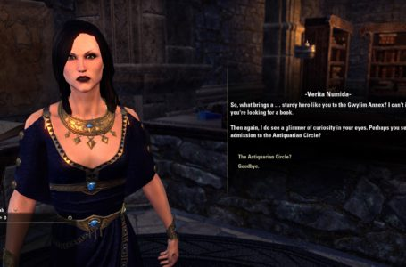 Where to learn the Antiquities skill in The Elder Scrolls Online Greymoor