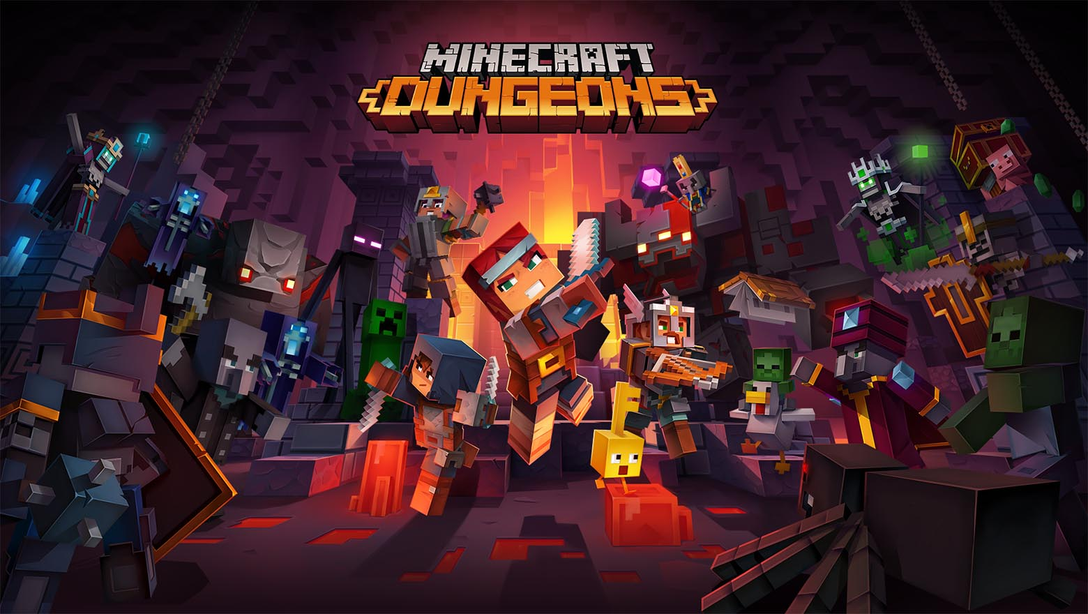 Roblox Nether Portal Where To Find The Nether Portal In Minecraft Dungeons Gamepur